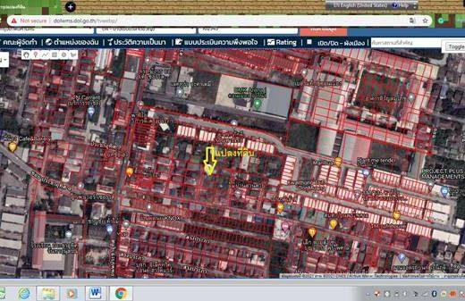 ขายด่วน ที่ดินเปล่า 64 ตารางวา ย่านชุมชนอยู่อาศัย ใกล้สถานีรถไฟฟ้า รถไฟ สนามบิน โทร 0935398262